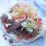 KronhjortskavKebab med salsa och vitlökssås