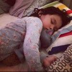 Tilda säger till när hon vill sova