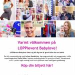 VI SES på LOPPIevent Babylove 2015 -STHLM!