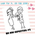 We are expecting #2!