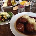Spännande lunch på Köttbullekällaren