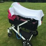 Dödsfälla – täcka över barnvagnen?