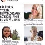 Topp 5 i Göteborg