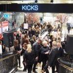 Invigningen av KICKS första Flagshipbutik i Nordstan!