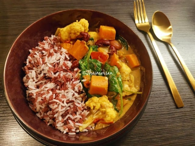Plantbased curry (veganskt)