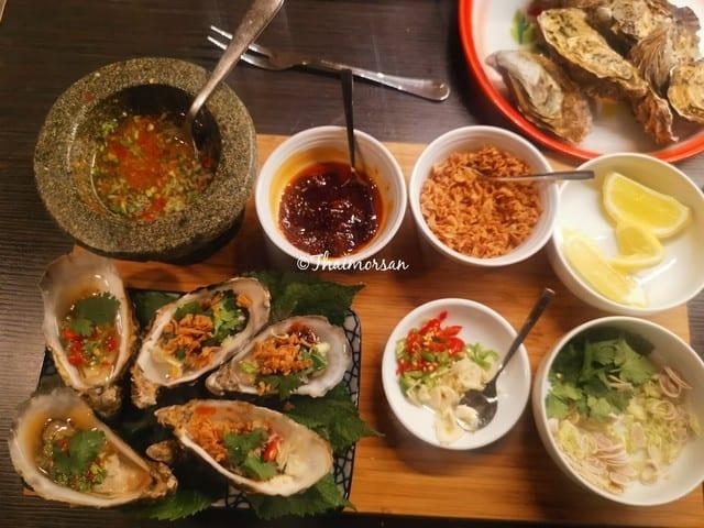 Ostron på thaivis