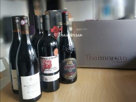 """Vinprovning för ett glatt gäng med tema """"3 röda viner"""""""
