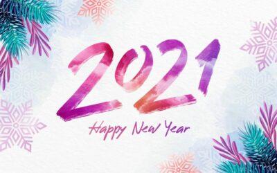 Gott nytt år 2021 (& maten)